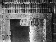 Detail Limestone and Faience molding around relief, Step Pyramid, Sakkara. 3rd Dy. circa 1900