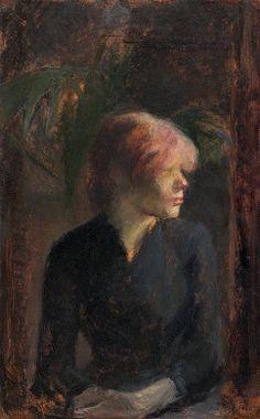 Carmen Gaudin / Henri de Toulouse-Lautrec / 1885 / oil on wood