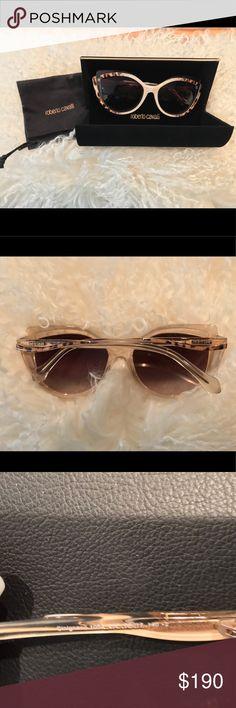692e31db4aa8 Roberto Cavalli RC 1052 Cinignano 25F Sunglasses Frame Color  White Lens  Color  Brown Frame