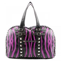 abbey dawn handbags   Abbey Dawn Ladies Zebbie Handbag Purple