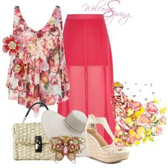"""""""Spring"""" by cavell on Polyvore"""