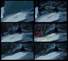Cave BG5 Process by parkurtommo.deviantart.com on @DeviantArt