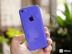 Purple iPhone 5C