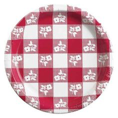 Creative Converting 10-1/4 Inch Red Gingham Paper Plates, 8 Count (Pack of 2) by Creative Converting, http://www.amazon.com/dp/B004LW9DTC/ref=cm_sw_r_pi_dp_NAE8pb0R86XKE