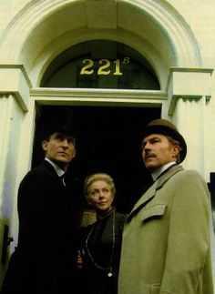 Jeremy Brett as Sherlock Holmes. I'm not saying the Robert Downey Jr. movies aren't fun and entertaining, they certainly are. The Jeremy Brett series though for me really captured the true essence and depth from the books.