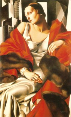 Portrait of Mrs Boucard, 1931-Tamara de Lempicka - by style - Art Deco