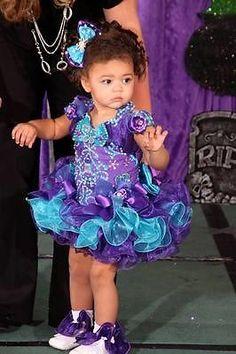 National Glitz Pageant Cupcake Dress