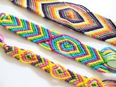 Very easy to make- friendship bracelets! #freepeople #DIY #bracelet