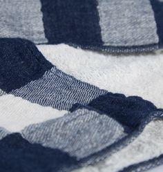 Japanese Vintage Check Towel - | Rejuvenation