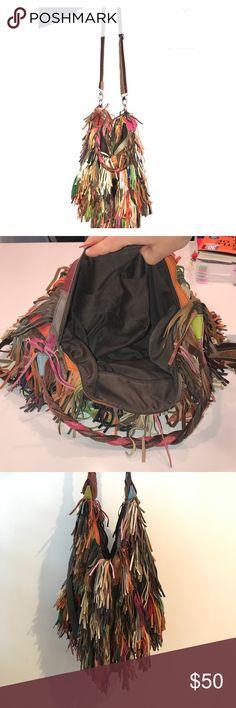 Handbag designer Italian leather Italian handbag in great condition . From boutique . Bags Crossbody Bags