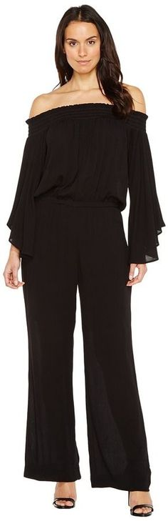 Karen Kane Off the Shoulder Jumpsuit