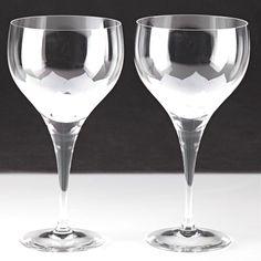 2 Vintage Wasser Kelche Rosenthal Lotus Gläser studio-linie Richard Latham W7C