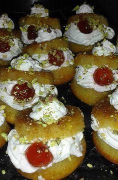 Greek Sweets, Greek Desserts, Greek Recipes, Good Foods To Eat, Food To Make, Cookbook Recipes, Cooking Recipes, The Kitchen Food Network, Sweet Corner