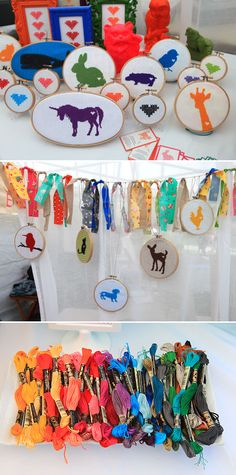 cross stitch animal silhouette patterns  $3.50 each