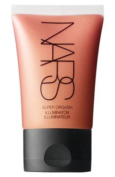 NARS Illuminator super orgasm. I mix a small amount of this with my Revlon Colorstay foundation. It gives the perfect glowy, dewy look.