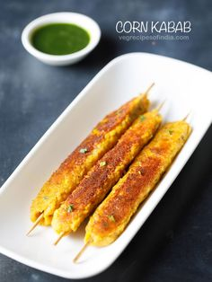 corn kabab recipe with step by step pics. this crispy and tasty sweet corn kabab is an easy to make snack. with kabab recipe shared here you can also make corn cutlets. you do not need an oven to make these kababs. Kebab Recipes, Veg Recipes, Indian Food Recipes, Cooking Recipes, Healthy Recipes, Indian Snacks, Recipies, Snack Recipes, Yummy Snacks