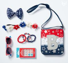 Our red, white & blue accessories add sparks of style to your outfit. Justice Accessories, Girls Accessories, Backpack Purse, Crossbody Bag, Auryn, Birthday Goals, Gymnastics Outfits, Shop Justice, Fit Black Women