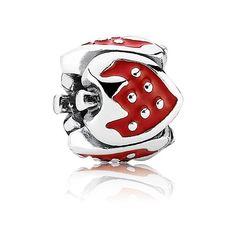 Pandora Charm Süße Erdbeere 791091EN09