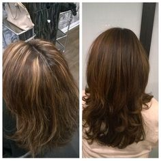 Base and balayage by Kelly and cut by Abel