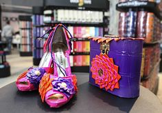 Matching Duck Tape shoes and purse at the NYC Pop-Up Store, open until April 28th, 2013. Address: 1411 Broadway, NY