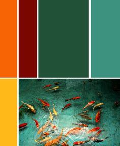 For those of you wondering how I came up with my color palette.....this was my inspiration.