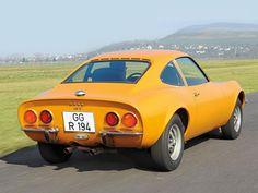 Opel GT 1900: Heck