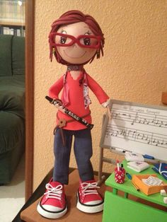 Fofucha profesora de música