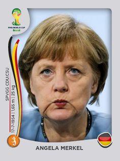 World Cup 2014 - Super Team Frau Merkel