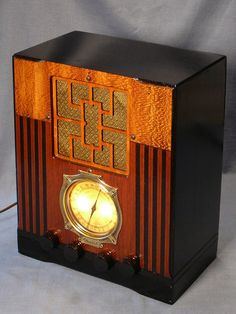 Vintage Simplex Tombstone Am SW Radio Super Reception and A Captivating Look   eBay