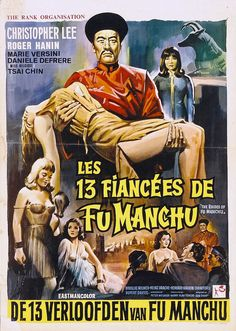 In yet another attempt to take over the world, Fu Manchu kidnaps a bevy of beauties; daughters of the world's most powerful men. SOMEbody has to finance his death ray, after all. The Brides of Fu Manchu (1966)