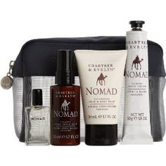Crabtree & Evelyn Nomad Traveler Set  - US STORE