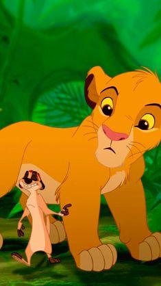 Simba and Timon Le Roi Lion 1, Le Roi Lion Disney, Disney Lion King, The Lion King 1994, Lion King Fan Art, Lion King Movie, Arte Disney, Disney Magic, Disney Art