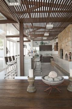 luxuriant natural landscape in the beach house decor (5)