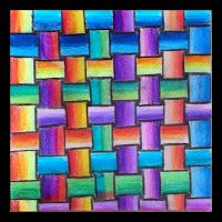 Drawing Practice The Inner World: Colorful weaving Zentangle Drawings, Art Drawings, Zentangles, Middle School Art, Art School, Elements And Principles, Watercolor Projects, Art Therapy Activities, Expressive Art