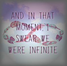 Infinite Tumblr background #cute #tumblr #background #pink #infinte #love #perks #of #being #a #wallflower
