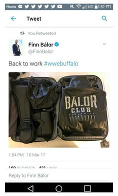 """""""Finn is coming back to raw"""" by alexisotey14 ❤ liked on Polyvore featuring Balor"""