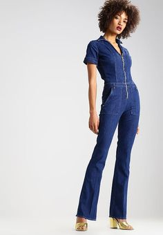 Guess FATIGUE - Jumpsuit - urban blue  for £109.99 (30/04/17) with free delivery at Zalando