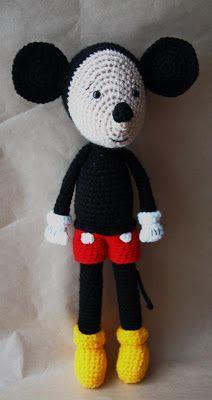 Mickey! #amigurumi