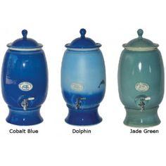 Ceramic fluoride water filter 12L