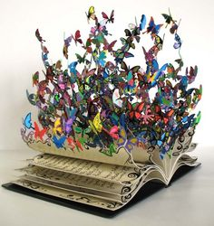 """book of life"" by artist David Kracov - sculpture {via obviousmag.org}"