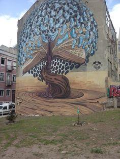 Nice streetart@Largo da Graca.