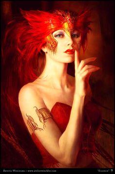 Fantasy girl.