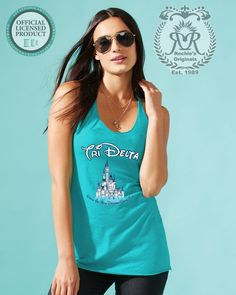 Women Tri-Blend Racerback Tank    Color Vintage Turquoise    ·  Fabric laundered, polyester/combed ringspun cotton/rayon, Satin Label    *Price includes Greek Licensing    Runs in Sizes S-XL    XXL- Add'l $2.00    XXXL- Add'l $4.00    Orders Open until July 30, 2016    Products will Ship 3 weeks after closing date. Please allow 4-7 days for shipping and delivery. | Shop this product here: http://spreesy.com/JackieAleman/5 | Shop all of our products at http://spreesy.com/JackieAleman…
