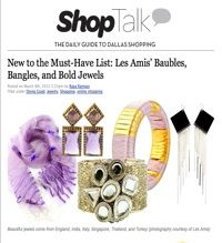 DMagazine ShopTalk - Raya Ramsey: Fashion Jewelry & Accessories - Shop Responsibly | Les Amis
