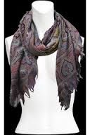 etro scarf purple