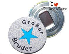 Großer+Bruder-Flaschenöffner+Geschenk+-59mm+von+Buttons&Books+auf+DaWanda.com