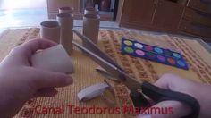 Manualidades con rollos de papel higiénico fáciles y baratas
