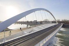 Cittadella Bridge, Alessandria, 2017 - Richard Meier & Partners Architects LLP, Dante O. Benini & Partners Architects