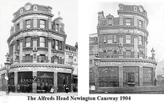 The Alfred Head, Newington causeway - in 1904. Hancock, Devenish and Drowley ...... Same family , same business.