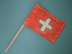 These Switzerland Crafts are a fun and creative way to learn about this wonderful country! The best part is that they are made with inexpensive, simple craft materials! World Friendship Day, Swiss National Day, Swiss Days, Multicultural Crafts, Switzerland Flag, Swiss Flag, World Thinking Day, Girl Scout Crafts, World Crafts